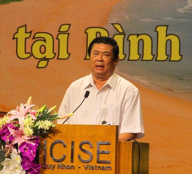 Ông Vũ Hoàng Hà, nguyên Bí thư Tỉnh ủy Bình Định- người có công lớn trong việc giữ chân vợ chồng GS Trần Thanh Vân ở lại Bình Định xây dựng Trung tâm ICISE.