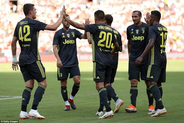 Juventus dẫn trước sau pha phản lưới nhà của Carvajal