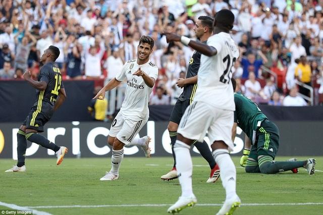 Asensio tỏa sáng giúp Real Madrid thắng chung cuộc 3-1