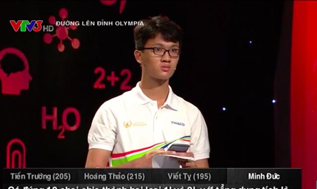 Nam sinh điển trai trường Phan Đình Phùng chiến thắng cuộc thi tuần Olympia - 4