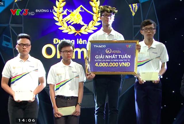 Minh Đức chiến thắng cuộc thi Tuần 2 Tháng 3 Quý 4