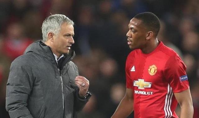 Mối quan hệ giữa Martial và Mourinho đã trở nên căng thẳng