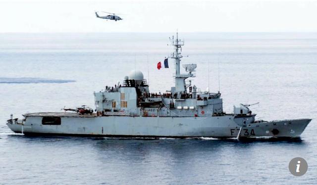 Pháp từng triển khai nhiều tàu và máy bay đi qua Biển Đông trong những năm gần đây (Ảnh: SCMP)