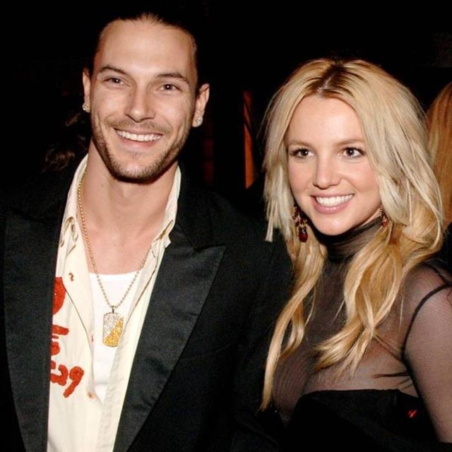 Nữ ca sĩ Britney Spears và vũ công Kevin Federline