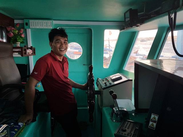 Ngư dân Tuấn Anh chia sẻ về những lần ra khơi thắng lợi