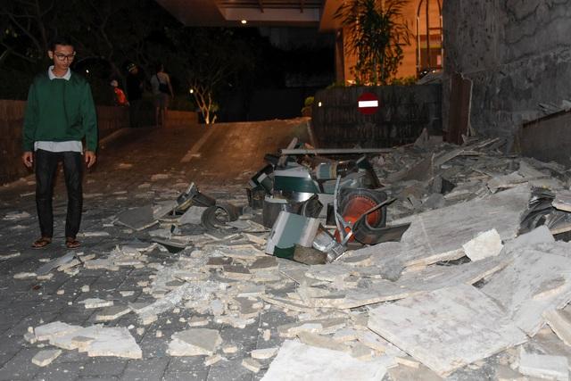 Theo Cơ quan khảo sát địa chất Mỹ, trận động đất mạnh 7 độ Richter xảy ra vào đầu giờ tối 5/8 ở độ sâu khoảng 10km ở khu vực đảo Lombok, cách đảo Bali khoảng 40km về phía đông. (Ảnh: Reuters)