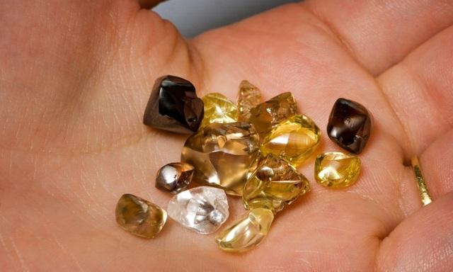 Đến nơi duy nhất trên thế giới cho phép du khách được đào và nhặt kim cương thoải mái - 2