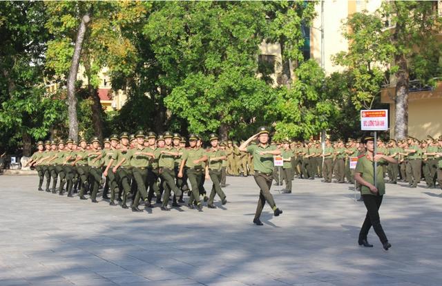 Học sinh Học viên An ninh nhân dân (Ảnh: Nhà trường cung cấp).