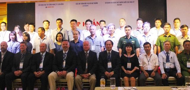 Khoá tập huấn ứng phó sự cố bức xạ hạt nhân vừa khai mạc ngày 6/8 tại Đà Nẵng
