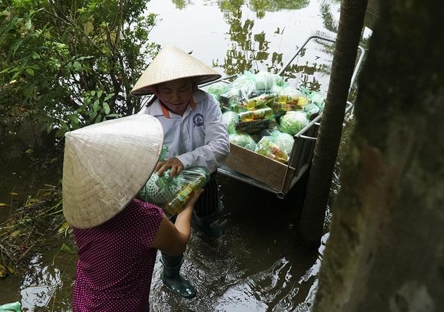 Theo thống kê sơ bộ, huyện Chương Mỹ có 1380,9 ha lúa bị thiệt hại, diện tích nuôi trồng thủy sản bị thiệt hại 603,5 ha, nhiều nhà ở, trường học, trạm y tế bị hư hỏng do nước lũ.