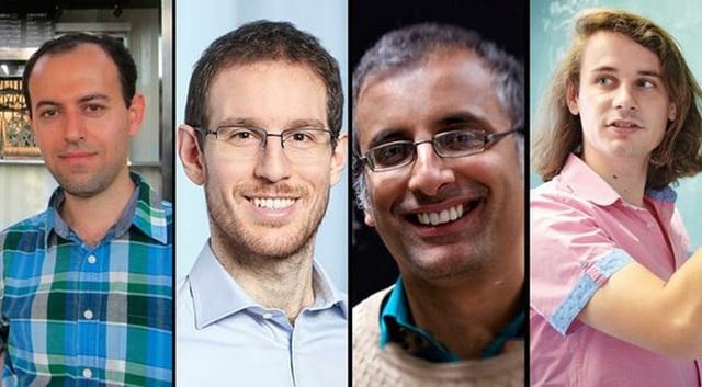 Giáo sư Akshay Venkatesh (thứ 3 từ trái sang) một trong 4 nhà toán học có vinh dự được trao huy chương Fields năm 2018. (Ảnh: Theguardian)