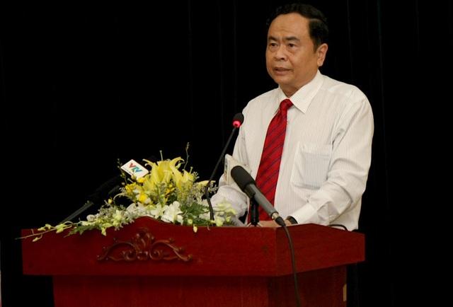 Ông Trần Thanh Mẫn, Chủ tịch Ủy ban Trung ương MTTQ Việt Nam cho rằng xã hội, nhân dân kỳ vọng nhiều hơn ở tính chủ động, mạnh mẽ và năng lực giám sát của mặt trận các cấp