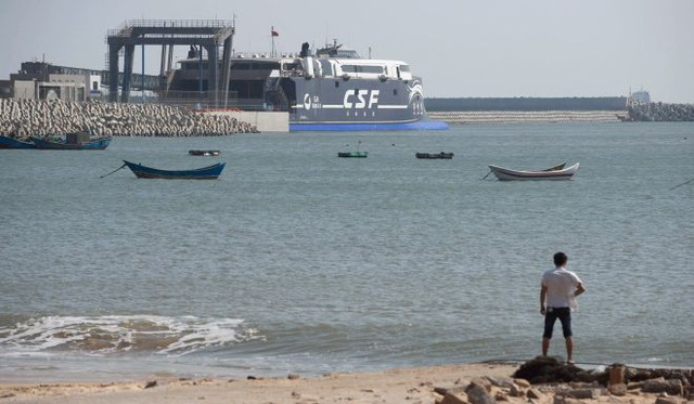 Hầm đường sắt dưới biển có thể bắt đầu từ Pingtan, tỉnh Phúc Kiến, Trung Quốc. (Ảnh minh họa: AFP)