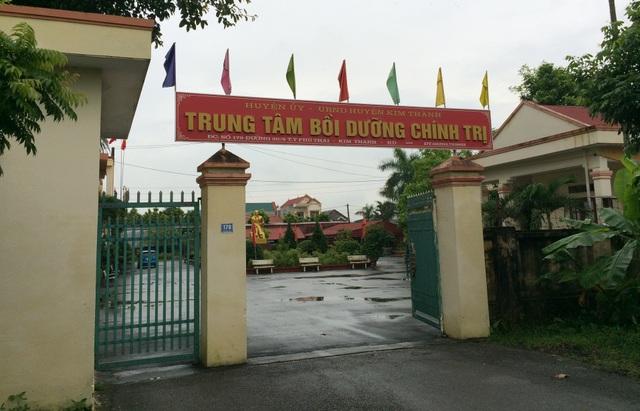 Những sai phạm mới phát hiện được tại Trung tâm Bồi dưỡng chính trị huyện Kim Thành đang gây rúng động dư luận địa phương.