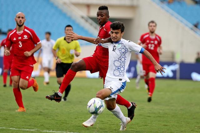 Uzbekistan ở giải này không mạnh như hồi họ thi đấu tại giải U23 châu Á 2018 (ảnh: Gia Hưng)