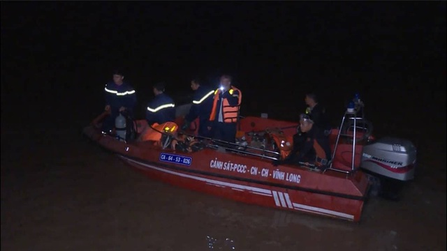 Lực lượng chức năng đang tổ chức tìm kiếm nạn nhân bị mất tích