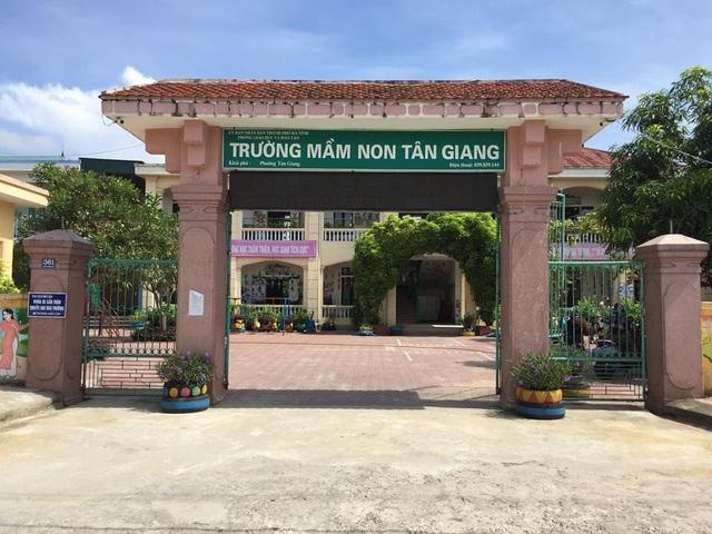 Hiện Trường Mầm non Tân Giang vẫn chưa thể tuyển sinh cho năm học mới