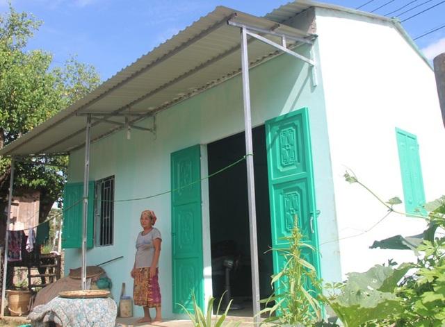 Bà Phai đã có căn nhà mới khang trang để ở