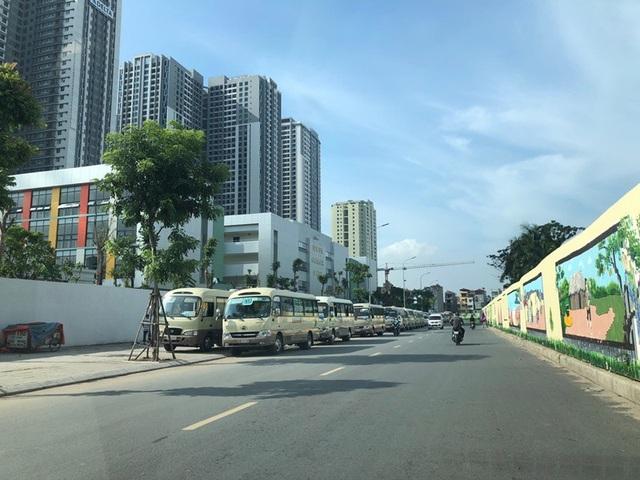Cơ sở quy mô và hiện đại của trường Newton Grammar School tại TNR Goldmark City 136 Hồ Tùng Mậu, Hà Nội.