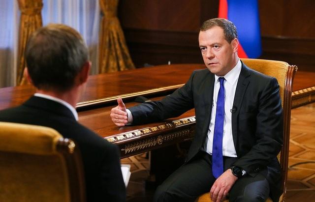 Thủ tướng Nga Dmitry Medvedev (Ảnh: TASS)