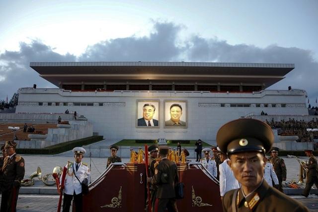 Đại lễ đường Nhân dân là một trong số những công trình lớn ở Triều Tiên.