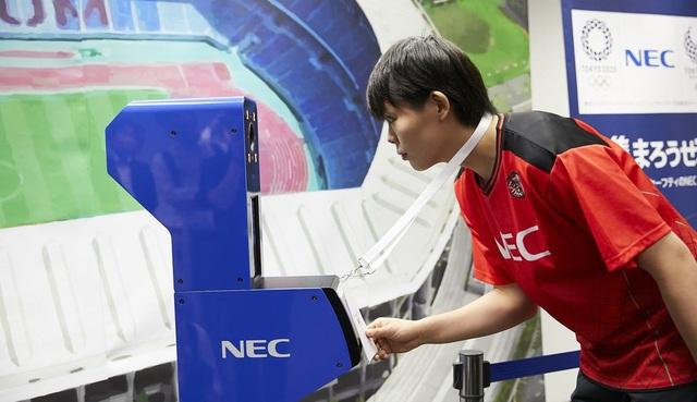 Tokyo 2020 là kỳ Olympic đầu tiên sử dụng công nghệ nhận diện khuôn mặt