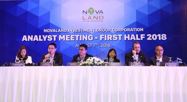 Đại diện Novaland chia sẻ định hướng phát triển trong tương lai của Tập đoàn