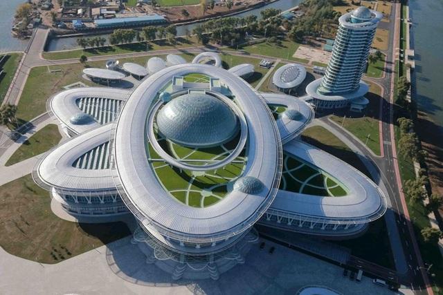 Ngợp mắt trước những công trình kiến trúc ấn tượng ở Triều Tiên - 2