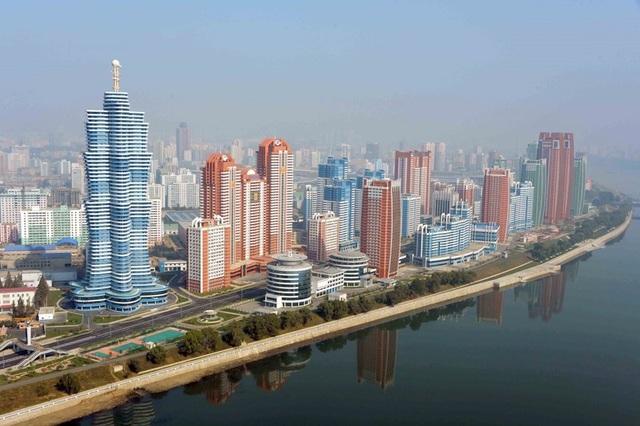 Ngợp mắt trước những công trình kiến trúc ấn tượng ở Triều Tiên - 3