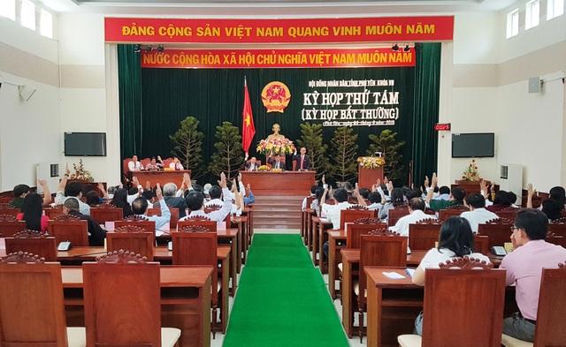 HĐND tỉnh Phú Yên tổ chức kỳ họp thứ tám (kỳ họp bất thường)