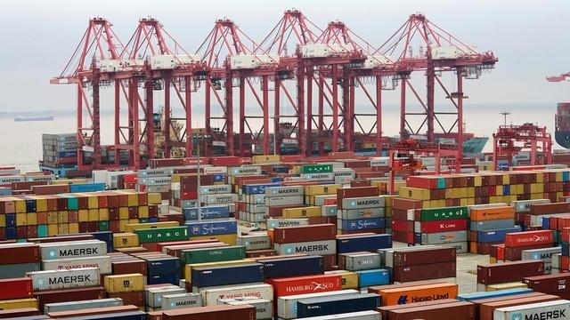 Cảng nước sâu Dương Sơn ở Thượng Hải, Trung Quốc (Ảnh minh họa: Market Watch)