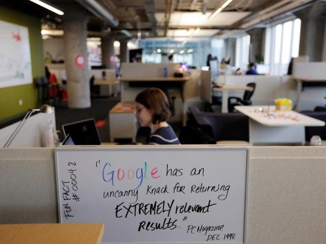 Google xếp đầu bảng về mức độ khó của các vòng phỏng vấn.
