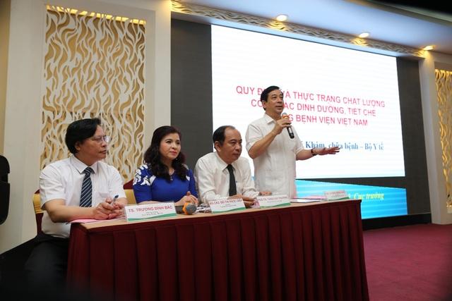PGS.TS.BS Lương Ngọc Khuê đã chia sẻ về thực trạng chất lượng công tác dinh dưỡng