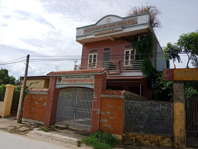 Qũy nhân dân tín dụng Hoằng Đồng đóng cửa nhiều năm.