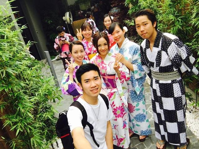 Cuộc sống tại Nhật có rất nhiều niềm vui và trải nghiệm mới mẻ.