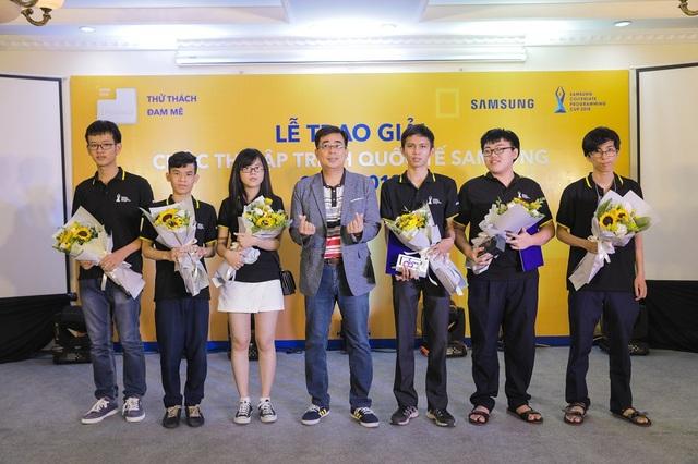 Lễ trao giải cuộc thi lập trình quốc tế Samsung Collegiate Programming Cup 2018