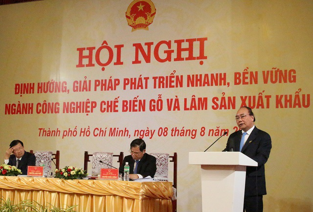 Thủ tướng phát biểu trong Hội nghị diễn ra ngày 8/8 tại TPHCM