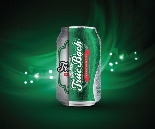 Bia Trúc Bạch ra mắt nhận diện thương hiệu mới nhân dịp 60 năm truyền thống