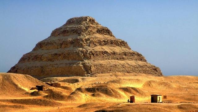 Djoser - Kim tự tháp đầu tiên của người Ai CẬp cổ đại