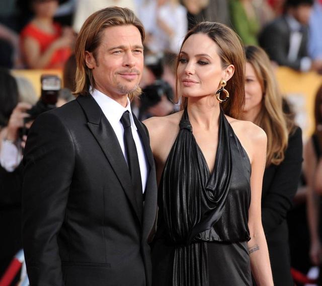 Angelina Jolie và Brad Pitt thuở còn gắn bó