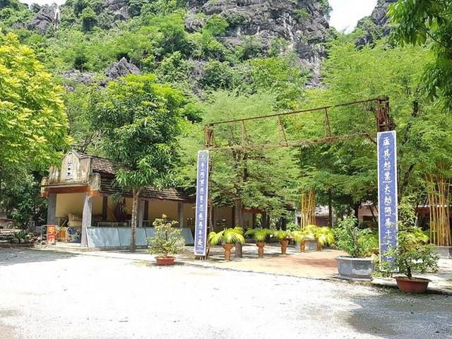 Vùng núi Cái Hạ - nơi Công ty CP Du lịch Tràng An xây dựng công trình trái phép.