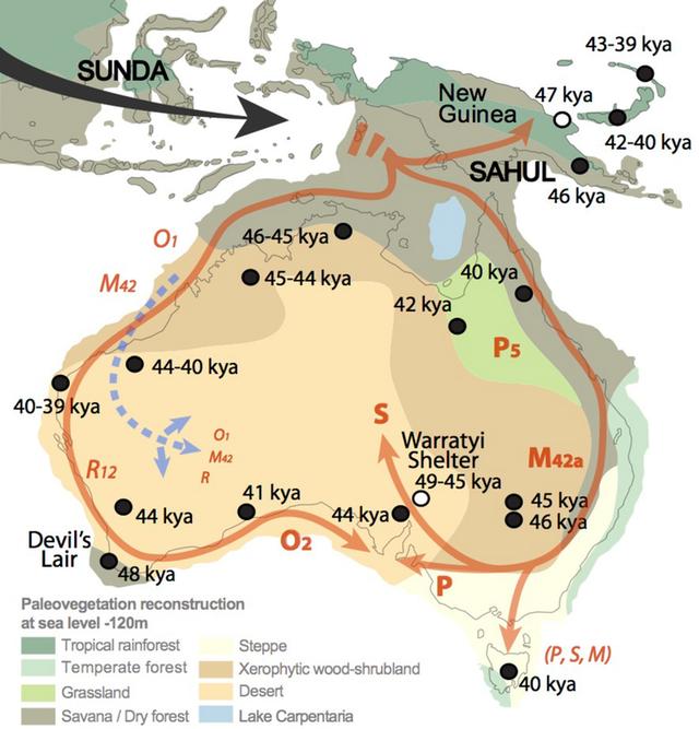 Những thổ dân đầu tiên đặt chân đến nước Úc từ khi nào? - 1