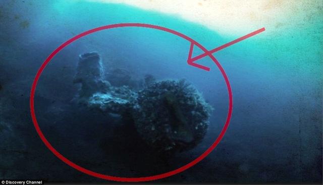 """Thợ săn kho báu vừa phát hiện một thứ kinh ngạc """"không thể giải thích"""" ẩn sâu bên dưới Tam giác quỷ Bermuda."""