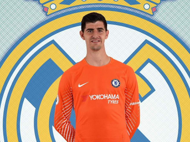 Real Madrid sở hữu Courtois