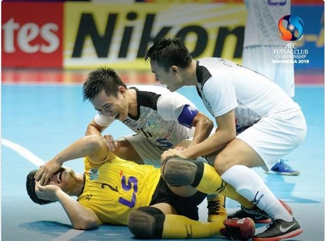 Thái Sơn Nam vừa gây địa chấn ở giải futsal các CLB châu Á