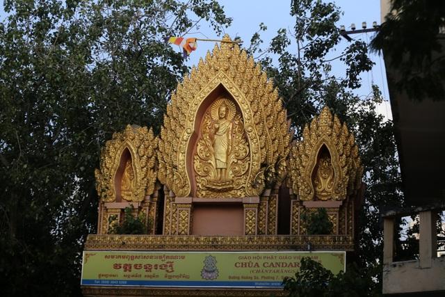 Chùa có diện tích 4.500 m2, kể từ khi đi vào hoạt động chùa đã tu sửa 7 lần.
