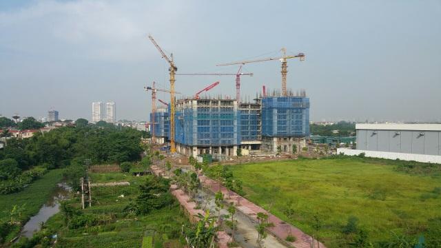 """Tiến độ xây dựng chung cư """"hot"""" nhất Long Biên hiện nay - 1"""