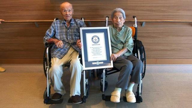 Cụ Masao Matsumoto và Miyako Sonoda