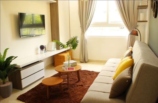 Tất cả các căn hộ đều được thiết kế thông minh,giảm thiểu tối đa góc canh để tiết kiệm diện tích, dễ dàng đón ánh sáng mặt trời và gió tự nhiên