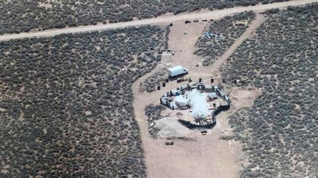 Khu lán trại giam giữ 11 trẻ em ở giữa sa mạc tại New Mexico. (Ảnh: EPA)